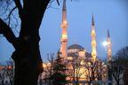 Blue Mosque at Sundown