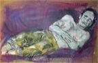 Portraits - Alan Asleep
