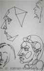 Faces - Blatt